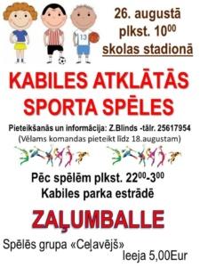 sporta spēles